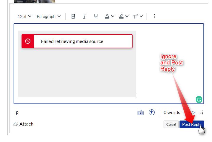 failed to retrieve media source error